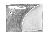 Spud, An As Yet Undiscovered Moon Of Neptune, Bides Its Time. - New Yorker Cartoon Premium Giclee Print by Mick Stevens