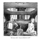 """Be honest, babe—do you still find me rich?"" - New Yorker Cartoon Premium Giclee Print by Matthew Diffee"