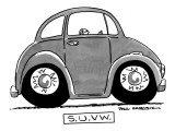 S.U.V.W. - New Yorker Cartoon Premium Giclee Print by Paul Karasik