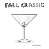 Fall Classics - New Yorker Cartoon Premium Giclee Print by Leo Cullum