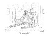 """Oh, can't complain."" - New Yorker Cartoon Premium Giclee Print by Robert Mankoff"
