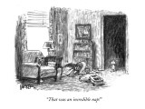 &quot;That was an incredible nap!&quot; - New Yorker Cartoon Premium Giclee Print by Robert Weber