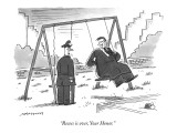 """Recess is over, Your Honor."" - New Yorker Cartoon Premium Giclee Print by Mick Stevens"