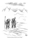 """Sometimes spring can't get here soon enough."" - New Yorker Cartoon Premium Giclee Print by Frank Cotham"