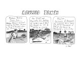 Revised Texts - New Yorker Cartoon Premium Giclee Print by Roz Chast