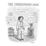 The Surrendered Mom - New Yorker Cartoon Premium Giclee Print by Roz Chast