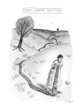 Cross-Country Knitting - New Yorker Cartoon Premium Giclee Print by Roz Chast