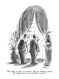"""We study, we plan, we research.  And yet, somehow, money still remains mo…"" - New Yorker Cartoon Premium Giclee Print by Lee Lorenz"
