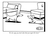"""It's the naps you don't take that you regret the most."" - New Yorker Cartoon Premium Giclee Print by Bruce Eric Kaplan"