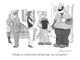 """Finally, we realized where all that anger was coming from."" - New Yorker Cartoon Premium Giclee Print by Danny Shanahan"