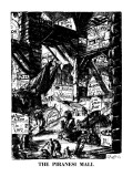 The Piranesi Mall - New Yorker Cartoon Premium Giclee Print by Sidney Harris