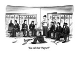 &quot;You call that Wagner?&quot; - New Yorker Cartoon Premium Giclee Print by Tom Cheney