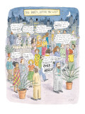 The Party After You Left - New Yorker Cartoon Premium Giclee Print by Roz Chast