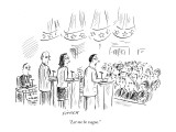 """Let me be vague."" - New Yorker Cartoon Premium Giclee Print by David Sipress"