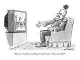 """Damn it! Ask something on the Franco-Prussian War!"" - New Yorker Cartoon Premium Giclee Print by Mike Twohy"