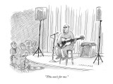 """This one's for me."" - New Yorker Cartoon Premium Giclee Print by Mick Stevens"