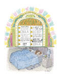 Insomniaplex - New Yorker Cartoon Premium Giclee Print by Roz Chast