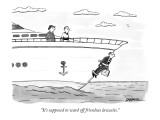 """It's supposed to ward off frivolous lawsuits."" - New Yorker Cartoon Premium Giclee Print by C. Covert Darbyshire"