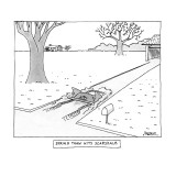 Spring Thaw Hits Scarsdale - New Yorker Cartoon Premium Giclee Print by Jack Ziegler