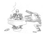 My Philosophy Take #74 - New Yorker Cartoon Premium Giclee Print by Jack Ziegler