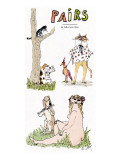 Pairs' - New Yorker Cartoon Premium Giclee Print by William Steig