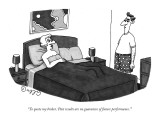 """""""To quote my broker, 'Past results are no guarantee of future performance.…"""" - New Yorker Cartoon Premium Giclee Print by J.C. Duffy"""