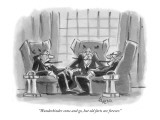 """Wunderkinder come and go, but old farts are forever."" - New Yorker Cartoon Premium Giclee Print by Lee Lorenz"