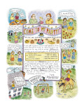 Come To My Party! - New Yorker Cartoon Premium Giclee Print by Roz Chast