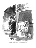 """""""Now we'll need a sitter for New Year's Eve."""" - New Yorker Cartoon Premium Giclee Print by Sidney Harris"""