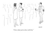 """I love what you've done with him."" - New Yorker Cartoon Premium Giclee Print by Alex Gregory"