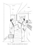 """Here it is—the plain, unvarnished truth. Varnish it."" - New Yorker Cartoon Premium Giclee Print by Richard Cline"