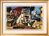 Paisagem mediterrânea Posters por Pablo Picasso