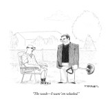 """""""The weeds—I want 'em whacked."""" - New Yorker Cartoon Premium Giclee Print by Pat Byrnes"""