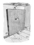 Extreme Filing - New Yorker Cartoon Premium Giclee Print by C. Covert Darbyshire