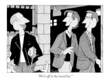 """We're off to the tweed bar."" - New Yorker Cartoon Premium Giclee Print by William Haefeli"