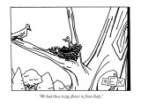 """We had these twigs flown in from Italy."" - New Yorker Cartoon Premium Giclee Print by Bruce Eric Kaplan"