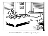 """We structured the deal so it won't make any sense to you."" - New Yorker Cartoon Premium Giclee Print by Bruce Eric Kaplan"