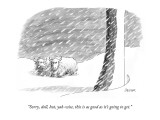 """Sorry, doll, but, yak-wise, this is as good as it's going to get."" - New Yorker Cartoon Premium Giclee Print by Jack Ziegler"