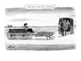 Amish Midlife Crisis - New Yorker Cartoon Premium Giclee Print by Harry Bliss
