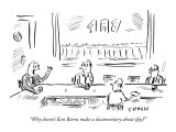 """Why doesn't Ken Burns make a documentary about this?"" - New Yorker Cartoon Premium Giclee Print by David Sipress"