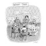 Worry Tank - New Yorker Cartoon Premium Giclee Print by Roz Chast