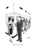 """Copywriting is too 'writing.'"" - New Yorker Cartoon Premium Giclee Print by Marisa Acocella Marchetto"
