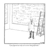 """I just figured out why we've never had girlfriends."" - New Yorker Cartoon Premium Giclee Print by Matthew Diffee"