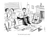 """So,  Carol tells me you're a baby."" - New Yorker Cartoon Premium Giclee Print by Joe Dator"