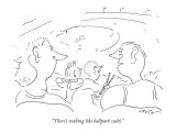 """""""There's nothing like ballpark sushi."""" - New Yorker Cartoon Premium Giclee Print by Arnie Levin"""
