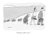 """You have a club—use it."" - New Yorker Cartoon Premium Giclee Print by Peter C. Vey"