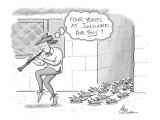 Pied Piper thinks to himself, 'Four years at Julliard for This?' - New Yorker Cartoon Premium Giclee Print by Leo Cullum