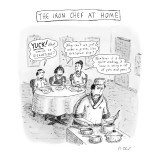 The Iron Chef At Home - New Yorker Cartoon Premium Giclee Print by Roz Chast