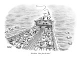 """Excellent.  Now just the altos."" - New Yorker Cartoon Premium Giclee Print by Christopher Weyant"