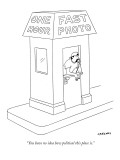 """You have no idea how political this place is."" - New Yorker Cartoon Premium Giclee Print by Alex Gregory"